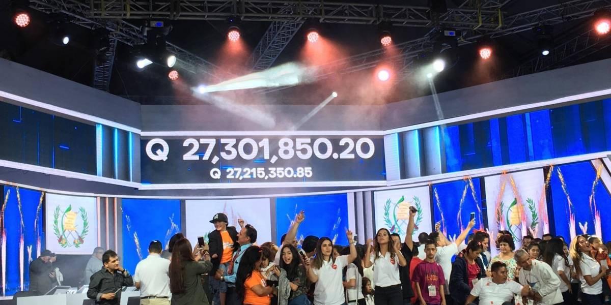 ¡Teletón 2017 logra superar la meta de 27 millones!