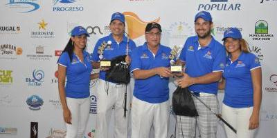 Rodríguez y Medina logran mejor score bruto en Puerto Plata Golf Classic