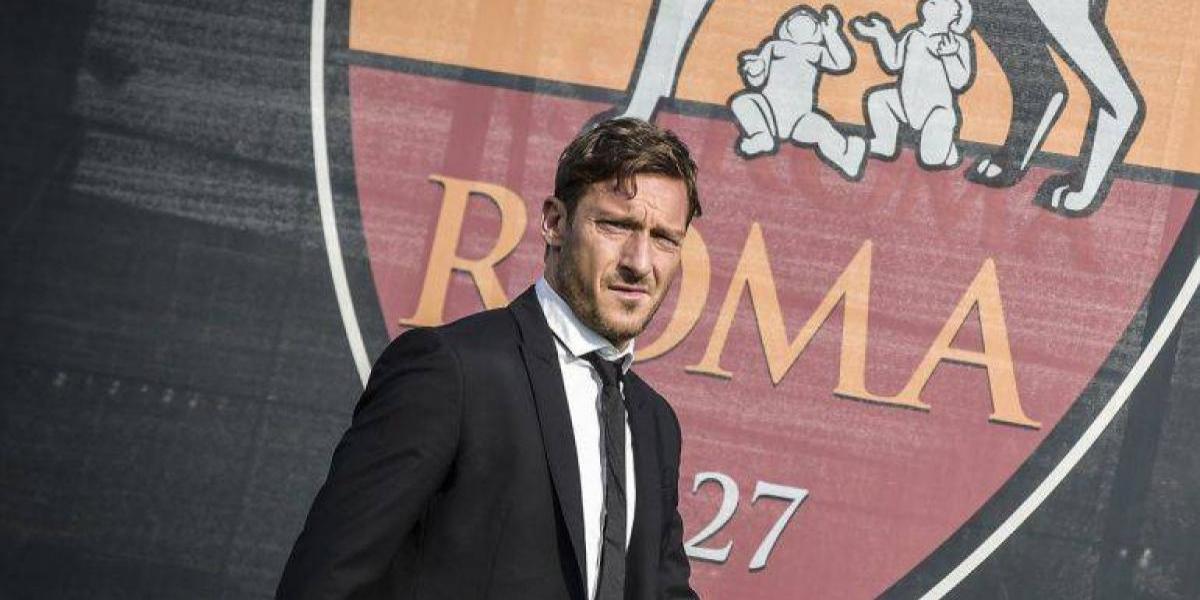 Una vida juntos: Francesco Totti formará parte de la directiva de la Roma