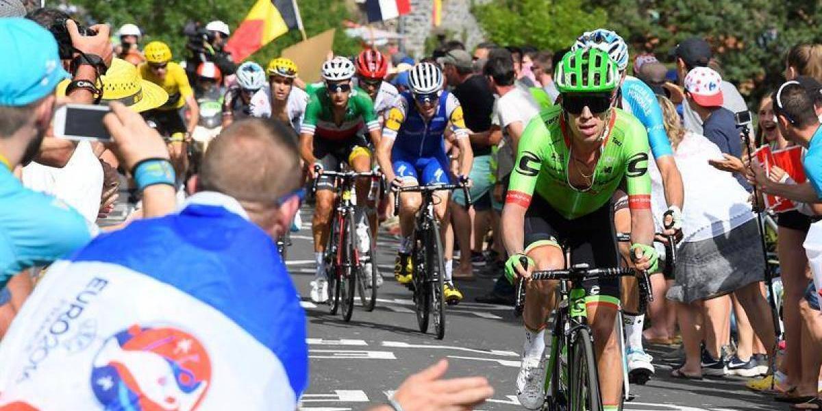 Rigo advierte al mundo del ciclismo y va por el triunfo en el Tour de Francia