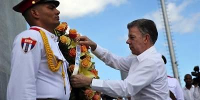 Santos pidió a Cuba que medie en la crisis venezolana, dice prensa de EE.UU.