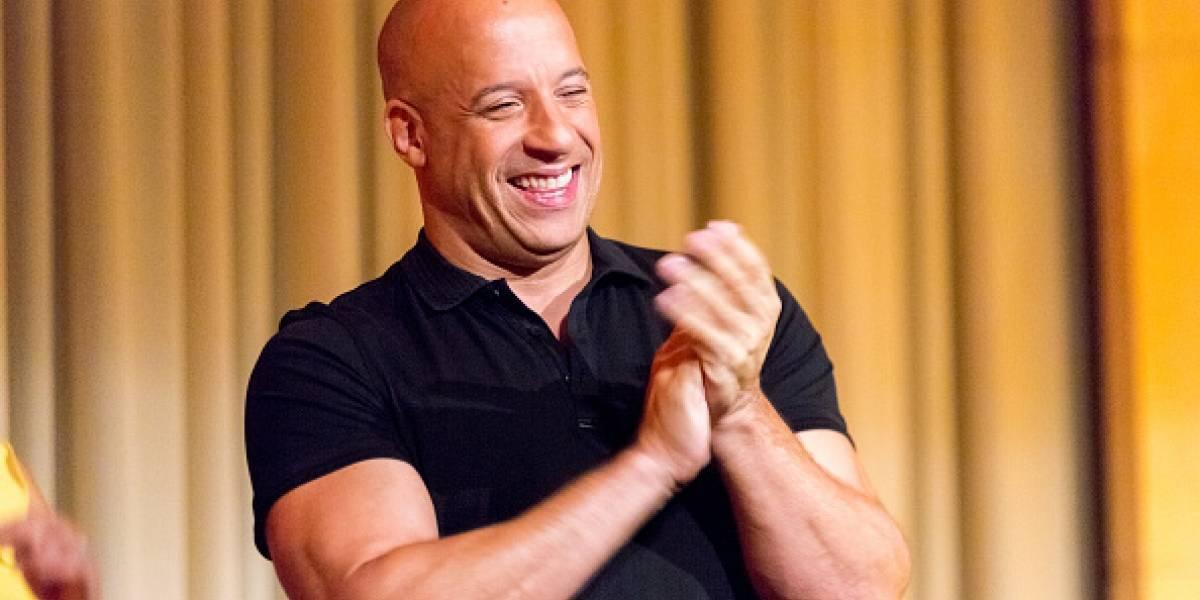 La foto en la que Vin Diesel tiene cabello
