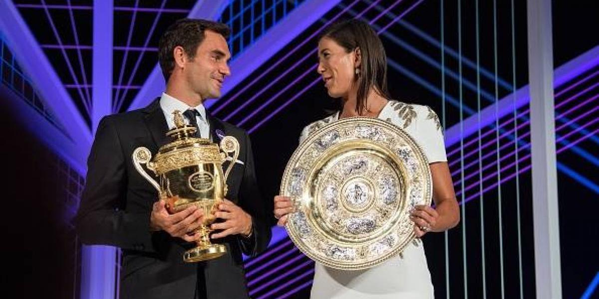 ¿Por qué Roger Federer no bailó con Garbiñe Muguruza en la cena de campeones?