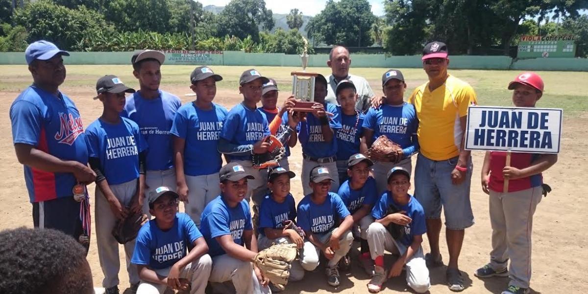 Juan de Herrera Campeón del Béisbol Infantil 2017 en San Juan