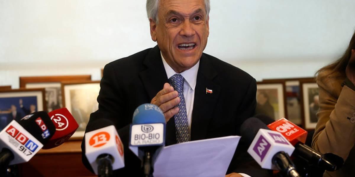 """Piñera y gratuidad en la Educación: """"Nuestra posición es mantenerla para el 50% de los jóvenes más vulnerable"""""""