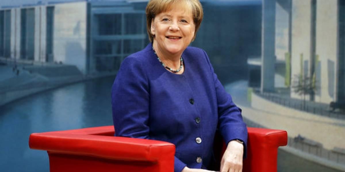 Merkel celebra sus 63 años, con sondeos de votación a su favor