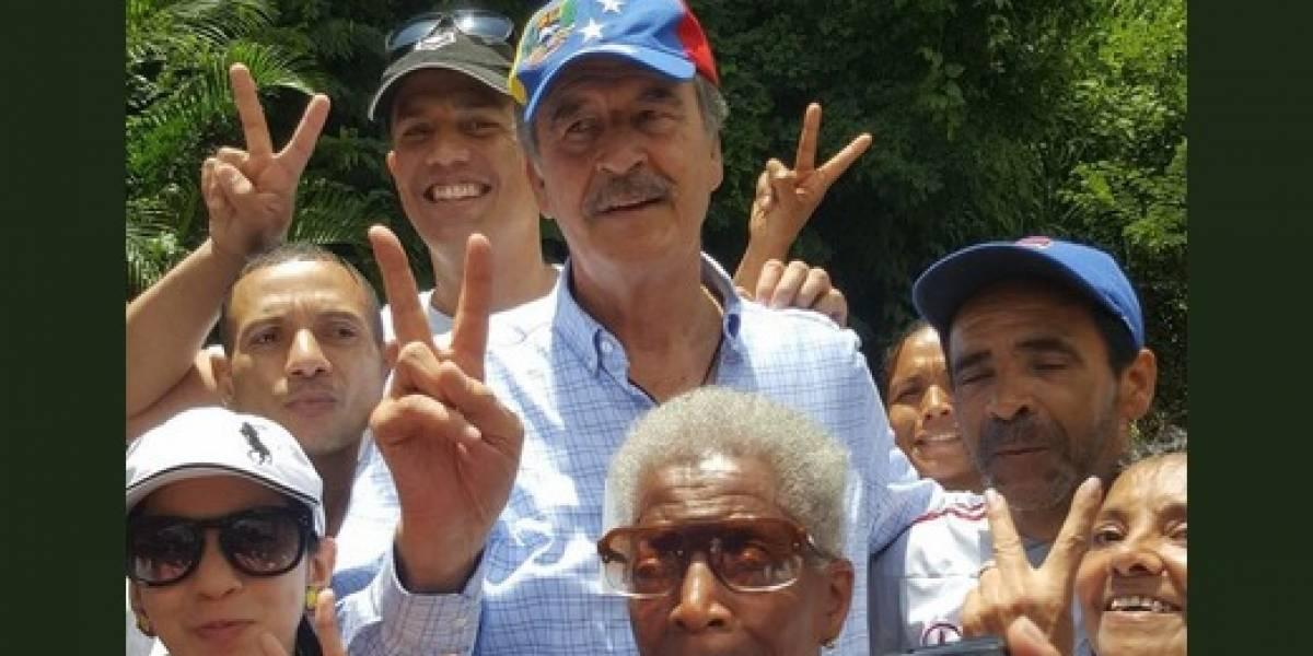 Venezuela declara persona no grata a Vicente Fox