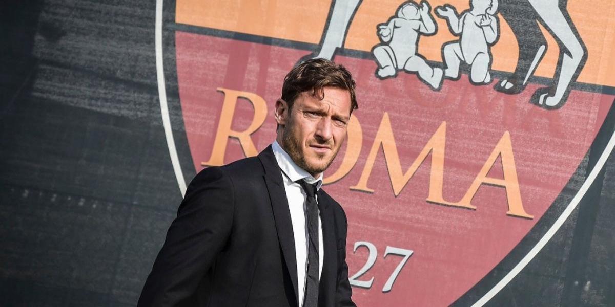 Francesco Totti de vuelta con la Roma