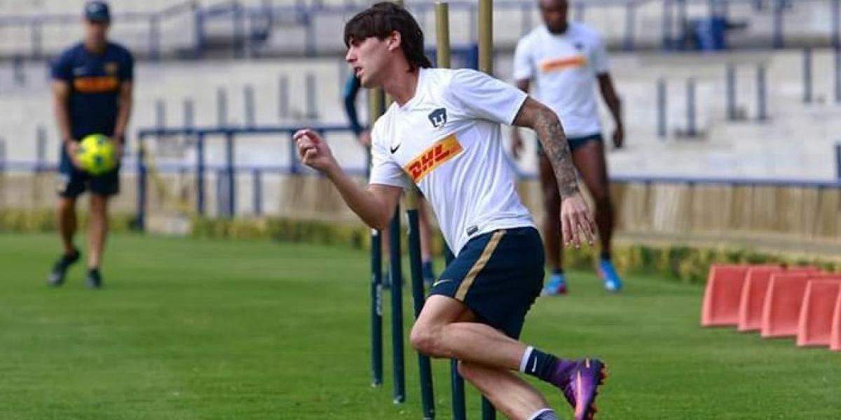 Formica, cerca de no jugar la J1 del Apertura 2017 con Pumas