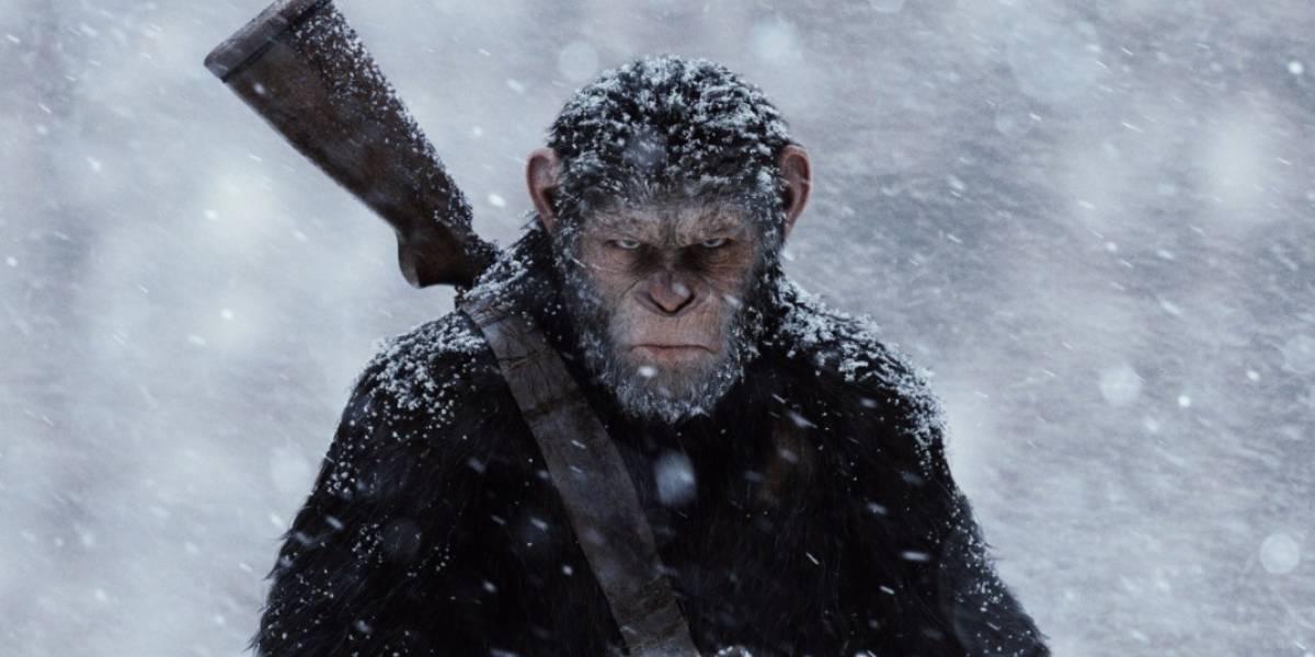 'El Planeta de los Simios: La Guerra', el número uno de la taquilla norteamericana