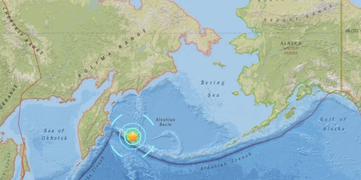 Alerta de tsunami tras sismo de 7,7 en el mar de Bering