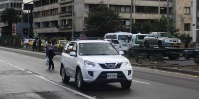Conductor de Uber denuncia que le robaron su carro tras una carrera en Bogotá