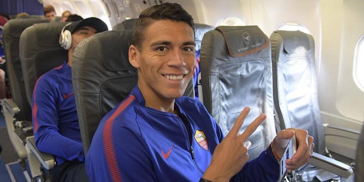 Héctor Moreno se dice listo para ayudar a la Roma a ganar el Scudetto