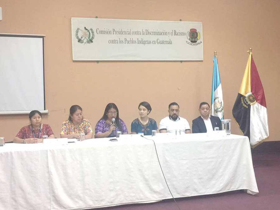 Conferencia de prensa de Codisra