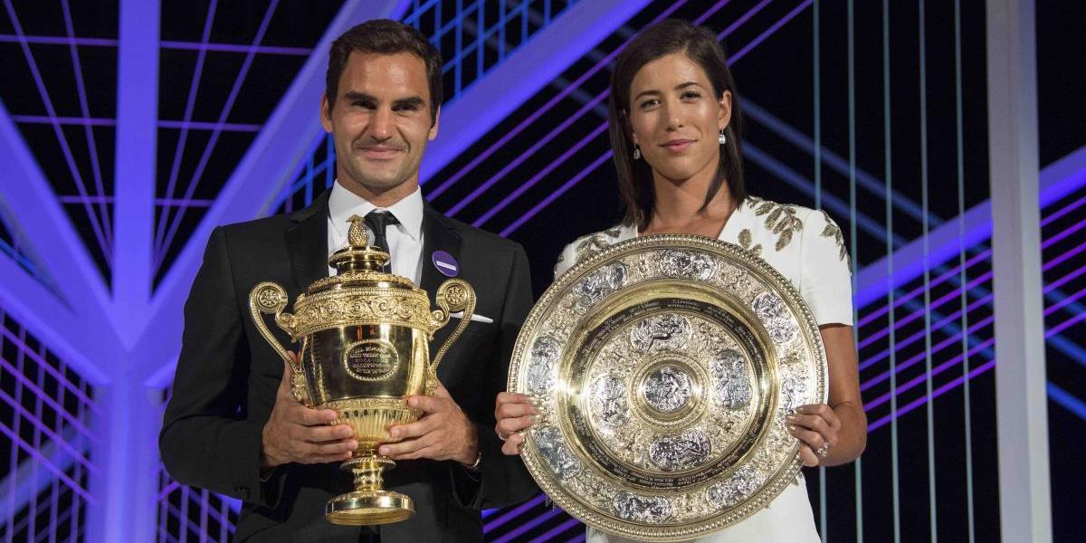 Federer sube al 3er puesto en ranking mundial; Muguruza es 5ta
