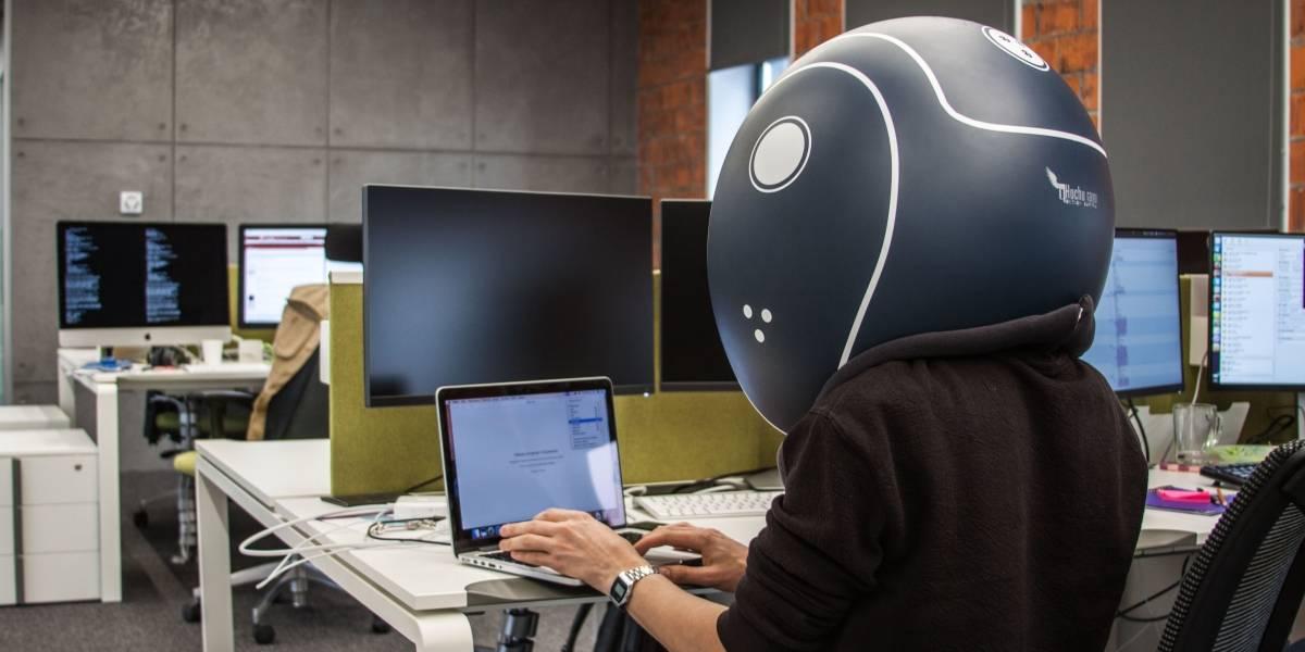 Helmfon bloquea todos los ruidos para incrementar tu productividad