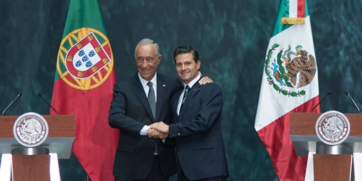 México y Portugal acuerdan impulsar inversiones y turismo
