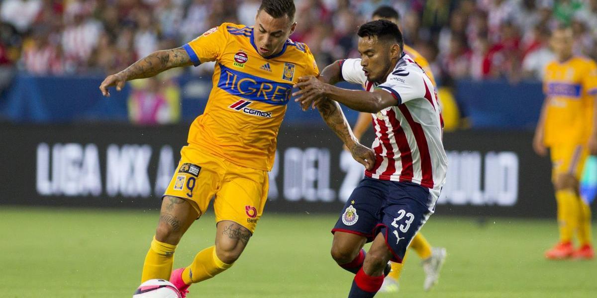 """Eduardo Vargas le dio el título de """"Campeón de Campeones"""" a Tigres en México"""