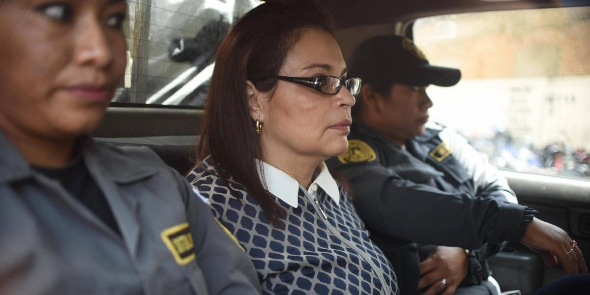 Roxana Baldetti no asiste a audiencia del caso La Línea