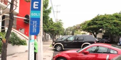 Posponen hasta el miércoles uso de parquímetros virtuales en Guadalajara