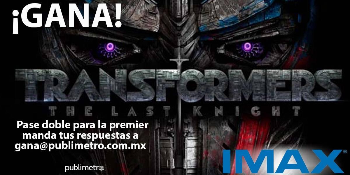 ¡Gana! pase para la premier IMAX