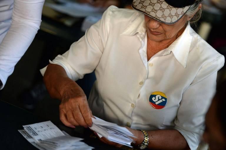 Plebiscito contra el gobierno en Venezuela