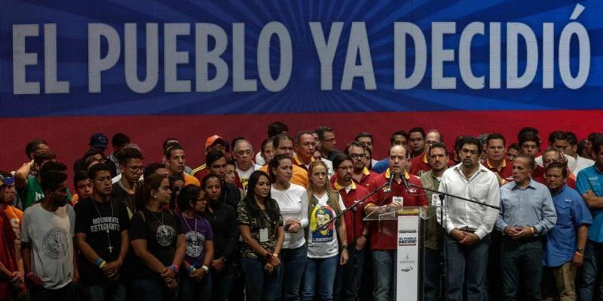 Venezuela: Más de 6 millones de personas rechazan la Asamblea Nacional Constituyente de Maduro