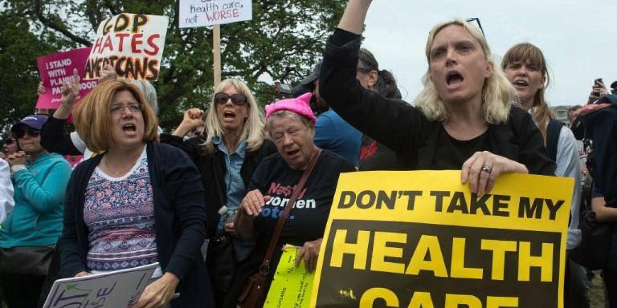 Revés para Trump: Republicanos se oponen a la reforma sanitaria y el proyecto debe ser presentado todo de nuevo