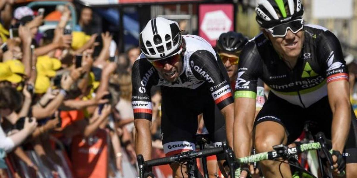 Matthews gana su segunda etapa del Tour de Francia que mantiene a Froome como líder