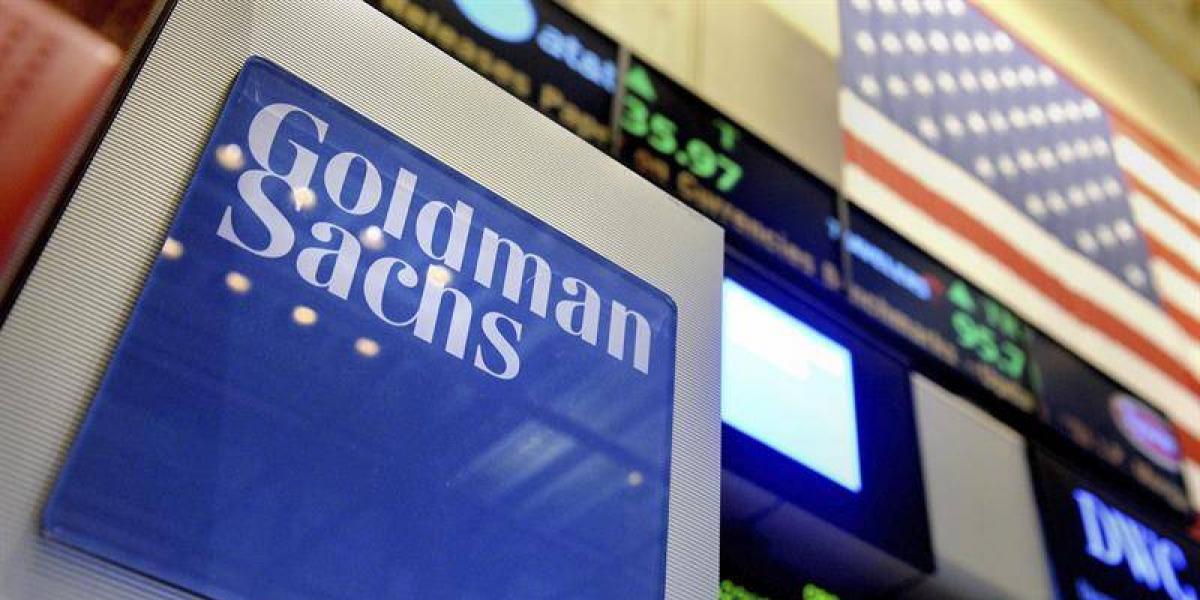 Beneficios semestrales de Goldman Sachs crecen 38 %