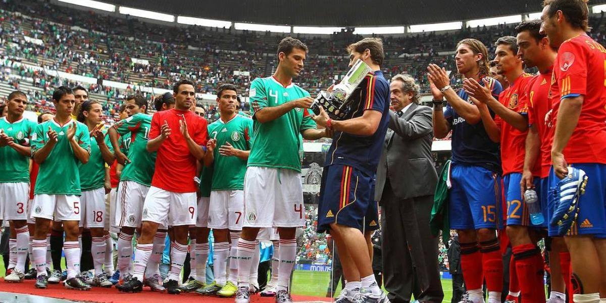 Investigan el amistoso de México ante España de 2010