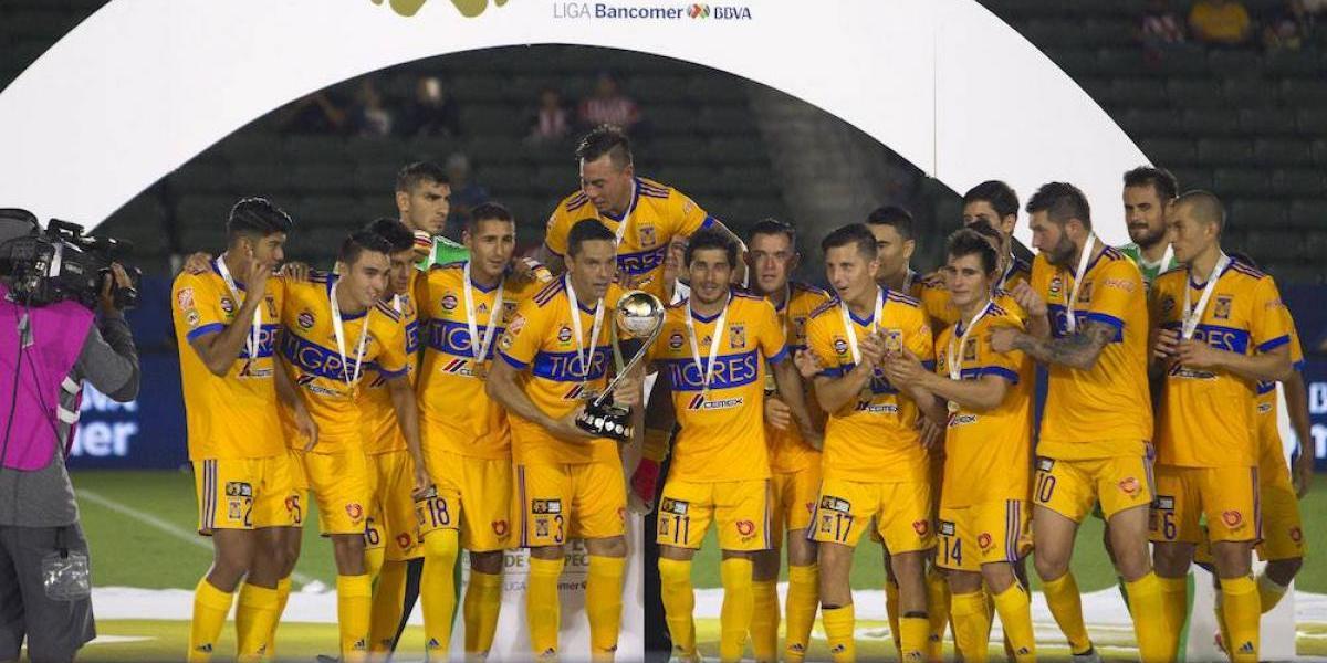 Los Tigres cuentan con la plantilla más cara del Apertura 2017
