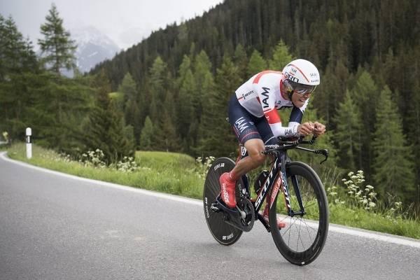 Caída de Jarlinson Pantano en el Tour de Francia