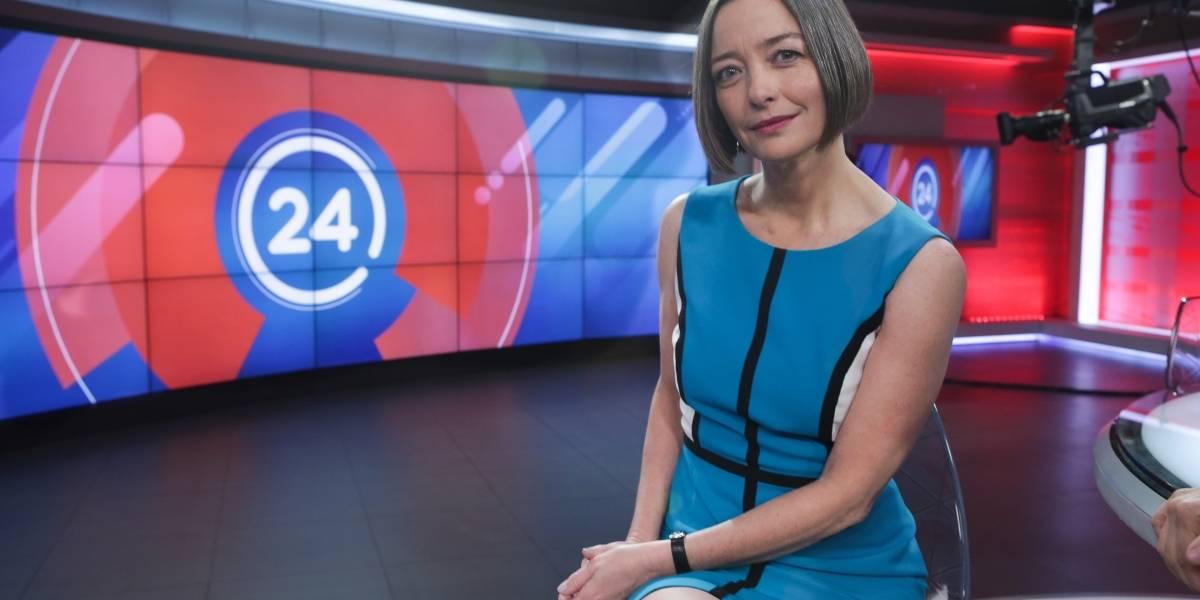 Consuelo Saavedra saca al noticiero de TVN del cuarto lugar en su debut como reemplazo de Mónica Pérez