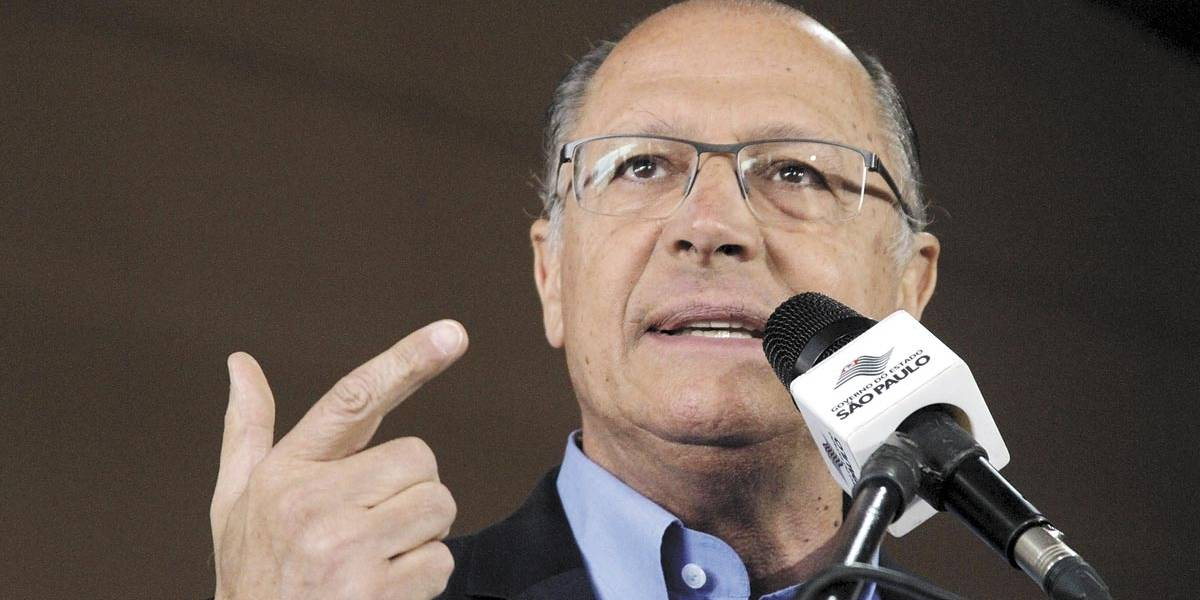 Alckmin não descarta possibilidade de assumir a presidência do PSDB