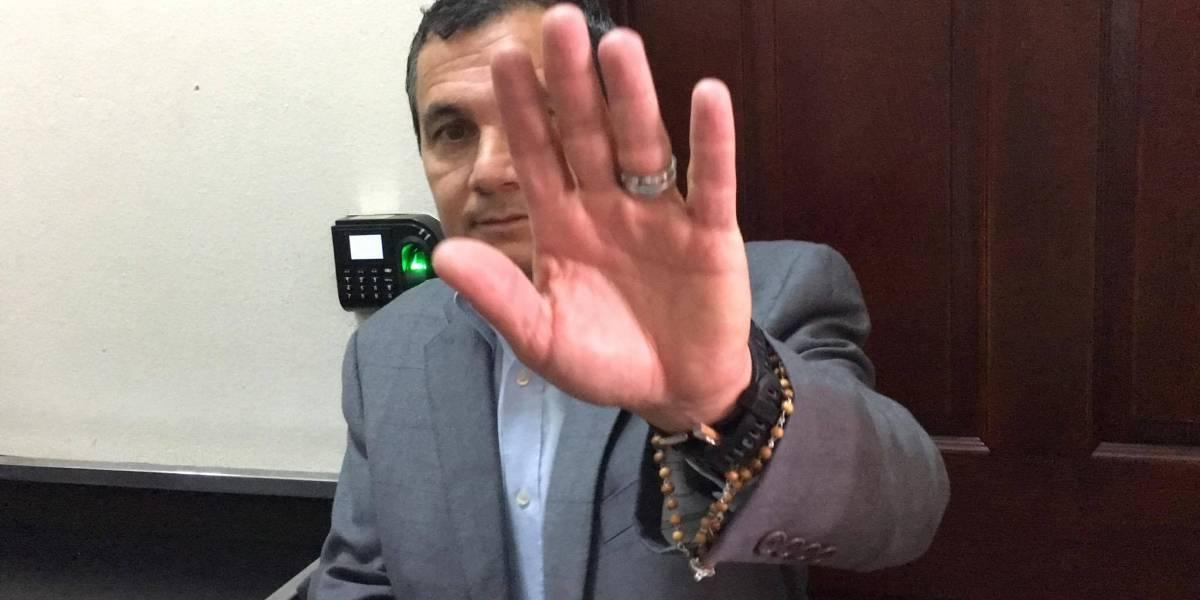 Caso Construcción y Corrupción: Álvaro Mayorga se pone a disposición de la justicia
