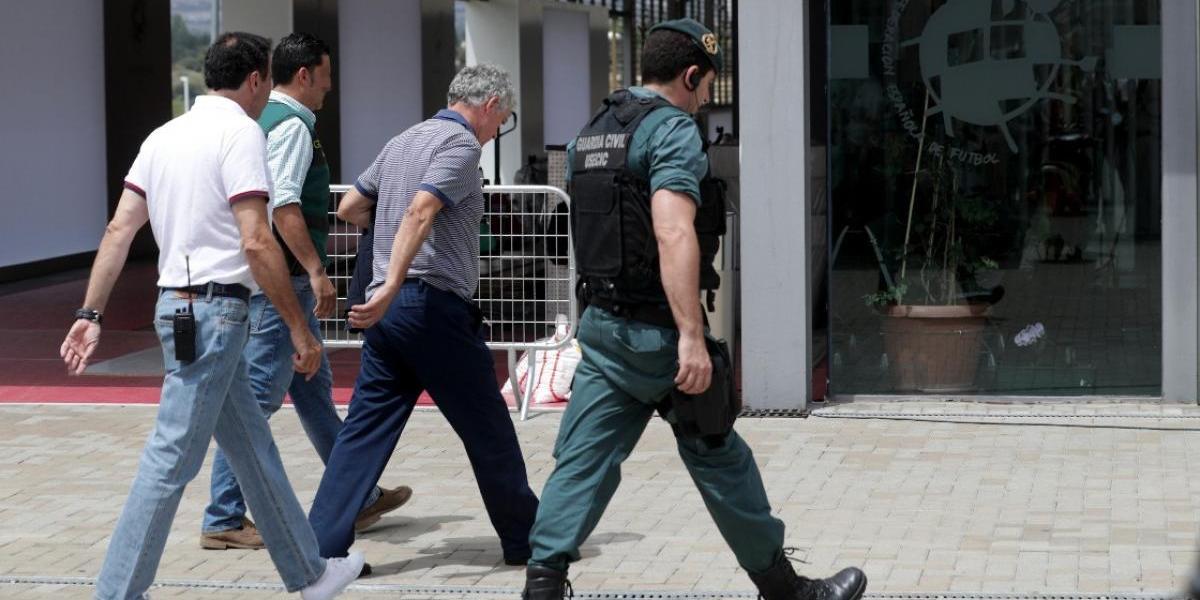 El Barça hace público su apoyo al presidente de la RFEF detenido por corrupción