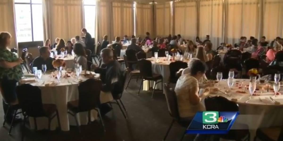 Por dudas del novio se cancela boda y donan su banquete a personas sin hogar