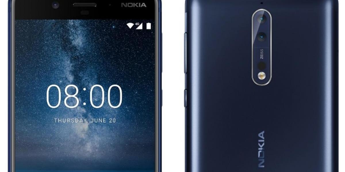 Nokia 8: Filtran a detalle todas sus especificaciones