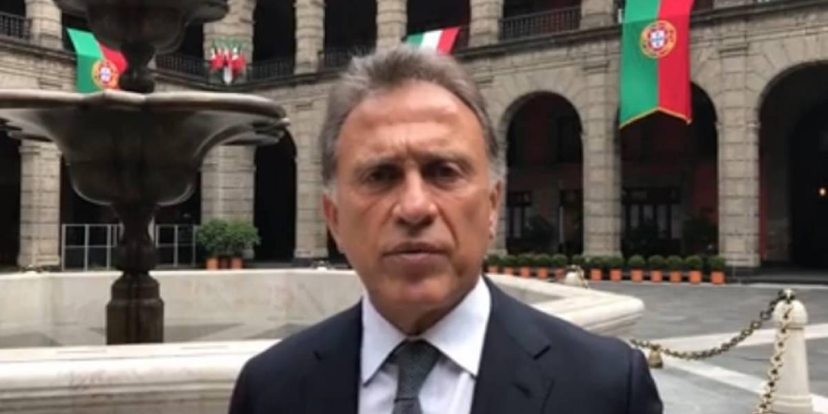 Yunes exige a PGR pena máxima para Javier Duarte