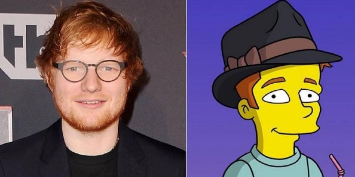 Ed Sheeran aparecerá en un capítulo de Los Simpsons