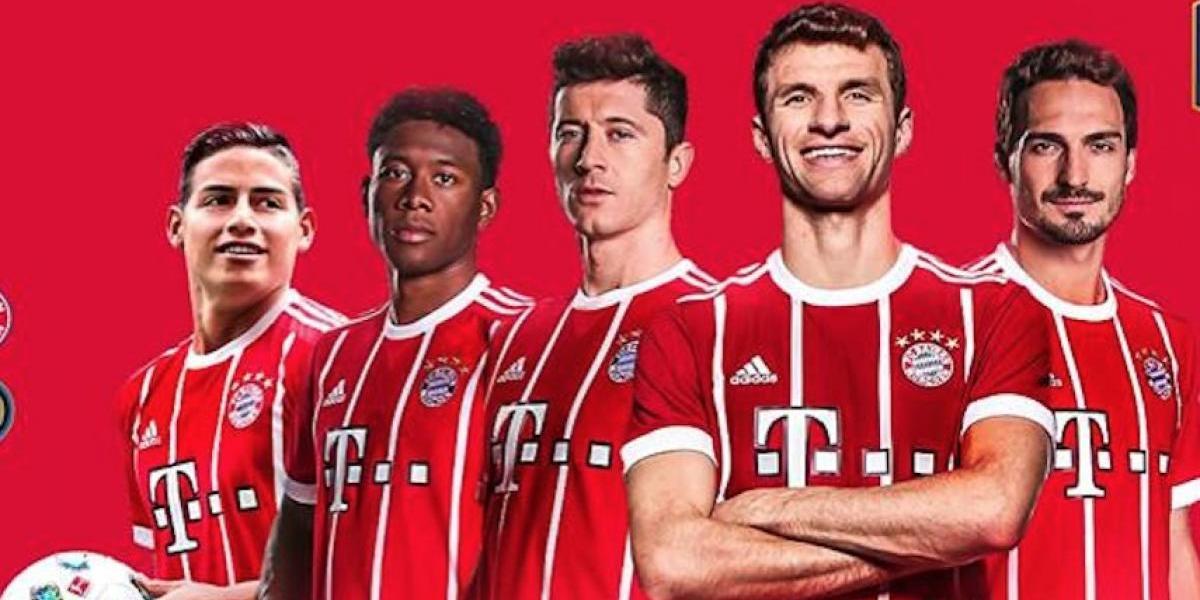 James Rodríguez desata la locura y el Bayern Munich le saca provecho