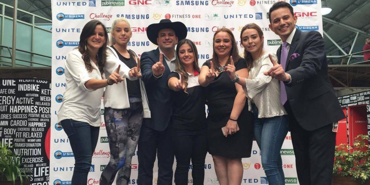 Conoce a los famosos guatemaltecos que participarán en el Challenge de Fitness One
