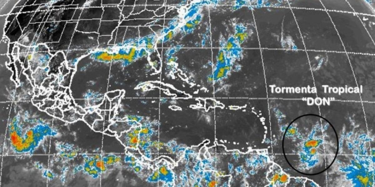 Se forma tormenta tropical 'Don' en el Atlántico