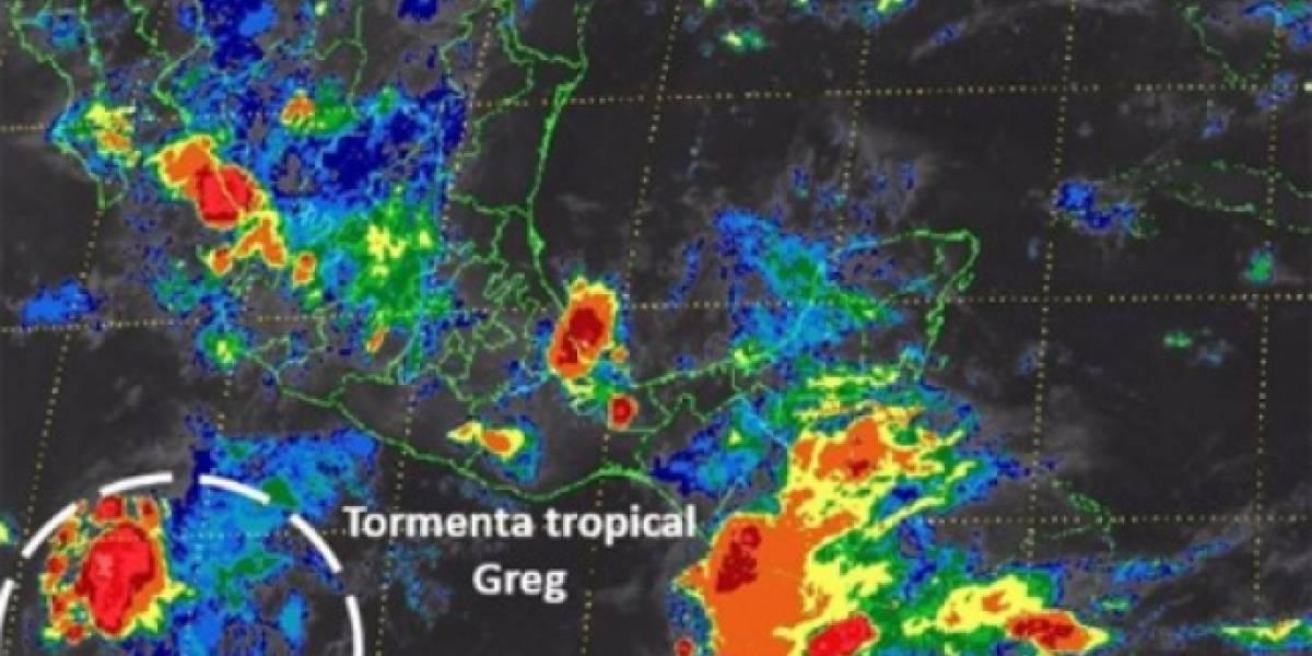 Se forma la tormenta tropical Greg en el Pacífico