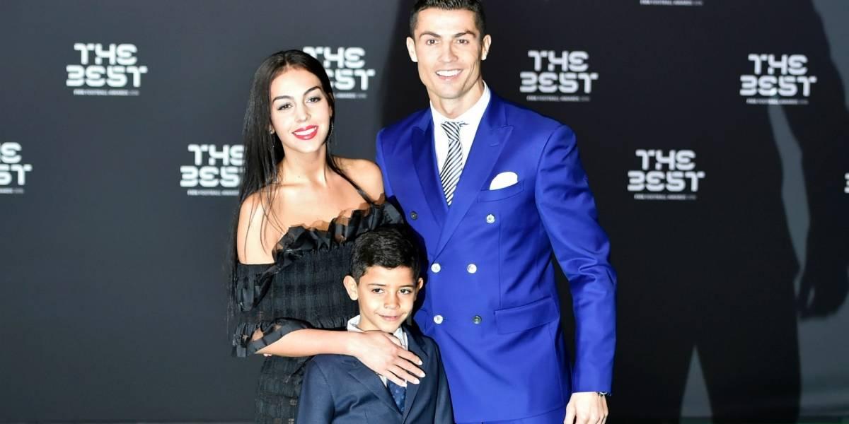 Esta es la foto prohibida de la novia de Cristiano Ronaldo