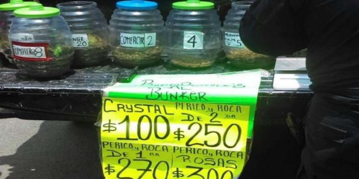 Vendían drogas como dulces en narcotiendita de Tepito