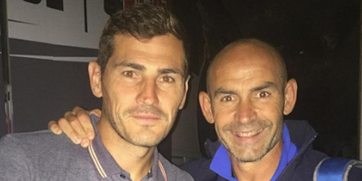 Iker Casillas deseó suerte a Paco Jémez con Cruz Azul