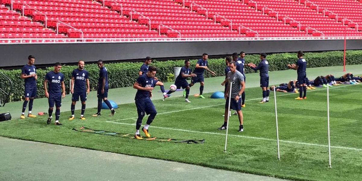 Porto está listo para enfrentar al campeón Chivas