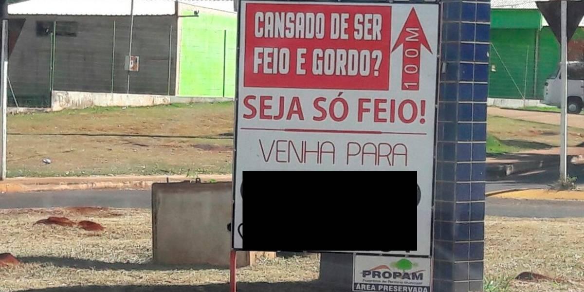Anúncio pega mal e academia é autuada no Mato Grosso do Sul